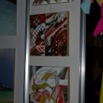 Част от картините представени на базара